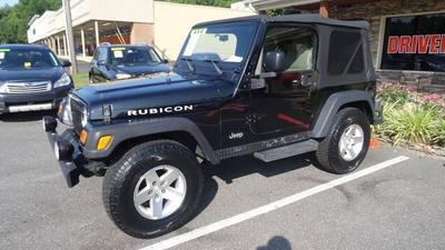 2003 Jeep Wrangler Rubicon for sale VIN: 1J4FA69S83P319313