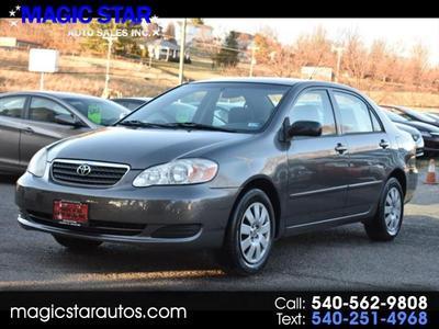 2006 Toyota Corolla CE for sale VIN: 2T1BR32E76C704283