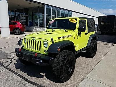2016 Jeep Wrangler Rubicon for sale VIN: 1C4BJWCG7GL321589
