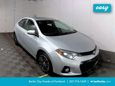 2016 Toyota Corolla S for sale VIN: 2T1BURHE7GC523971
