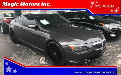 2007 BMW 650 i for sale VIN: WBAEH13557CR51411