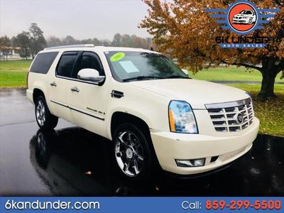 2007 Cadillac Escalade ESV  for sale VIN: 1GYFK66827R372069