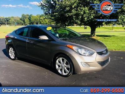 2013 Hyundai Elantra Limited for sale VIN: 5NPDH4AE7DH188388