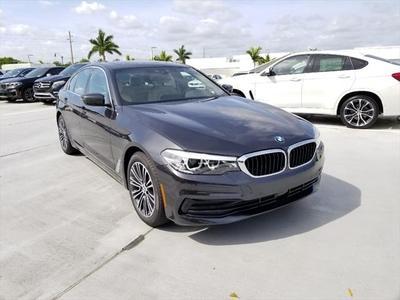 2019 BMW 530 i for sale VIN: WBAJA5C57KBX46892