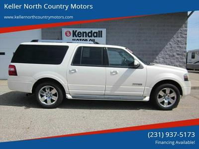 2008 Ford Expedition EL Limited for sale VIN: 1FMFK20548LA24836