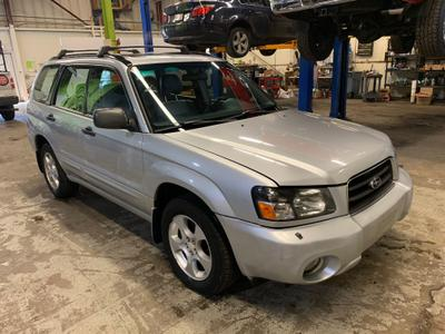 2003 Subaru Forester 2.5 XS for sale VIN: JF1SG656X3H739280