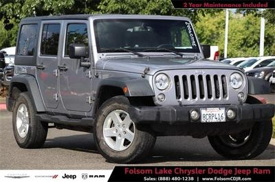 Jeep Wrangler Unlimited 2015 for Sale in Folsom, CA