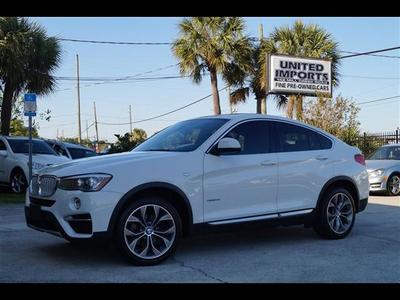 2015 BMW X4 xDrive28i for sale VIN: 5UXXW3C53F0M89412