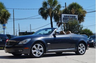 2008 Lexus SC 430  for sale VIN: JTHFN45Y589016539