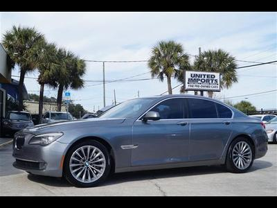 2011 BMW 750 i for sale VIN: WBAKA8C56BCY36860