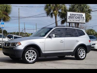 2005 BMW X3 2.5i for sale VIN: WBXPA73495WC50463