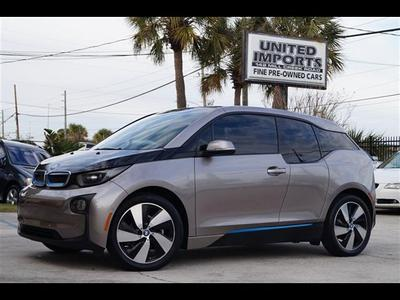 2014 BMW i3 Base for sale VIN: WBY1Z2C51EVX51100