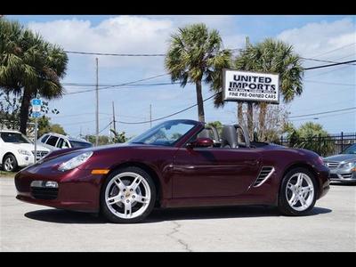 2006 Porsche Boxster  for sale VIN: WP0CA29846U713015