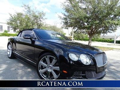 2012 Bentley Continental GTC Base for sale VIN: SCBGR3ZA8CC074029