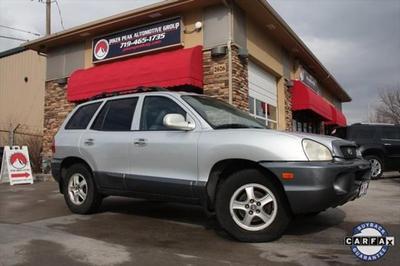 2003 Hyundai Santa Fe GLS for sale VIN: KM8SC13D43U344945