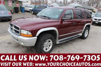 2003 Dodge Durango SLT Plus for sale VIN: 1D8HS58NX3F550528