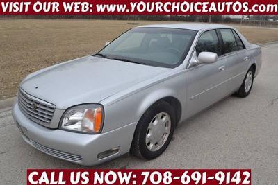 2000 Cadillac DeVille  for sale VIN: 1G6KD54Y3YU290249