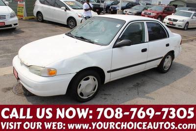 2001 Chevrolet Prizm  for sale VIN: 1Y1SK52851Z417254