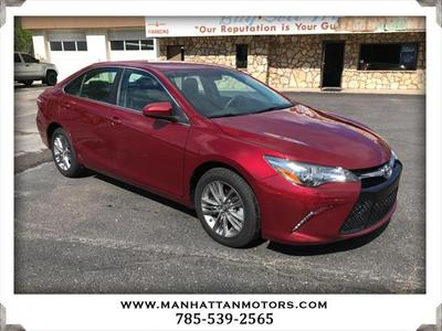 2016 Toyota Camry SE w/Special Edition Pkg for sale VIN: 4T1BF1FK5GU611906