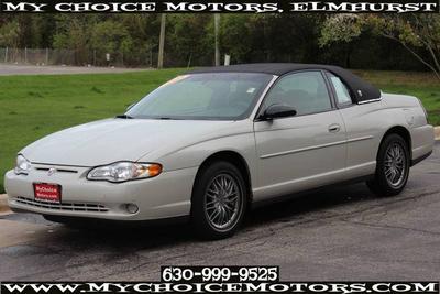 2003 Chevrolet Monte Carlo LS for sale VIN: 2G1WW12E639203551