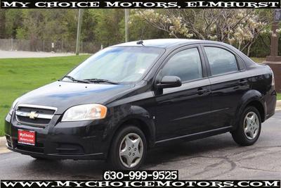 2009 Chevrolet Aveo LT for sale VIN: KL1TD56E39B627222