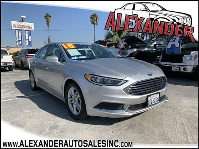 Ford Fusion 2018 for Sale in Whittier, CA