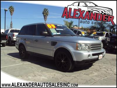 Land Rover Range Rover Sport 2009 for Sale in Whittier, CA