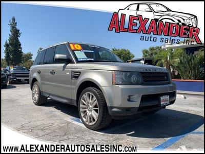 Land Rover Range Rover Sport 2010 for Sale in Whittier, CA