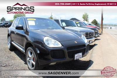 2006 Porsche Cayenne  for sale VIN: WP1AC29P06LA91655