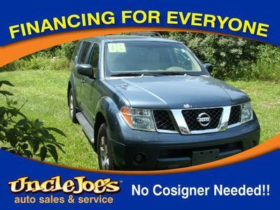 2006 Nissan Pathfinder LE for sale VIN: 5N1AR18W06C609763
