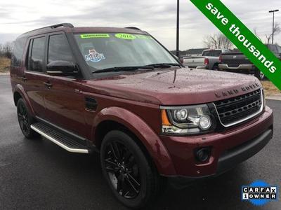 2016 Land Rover LR4 Base for sale VIN: SALAG2V66GA833081