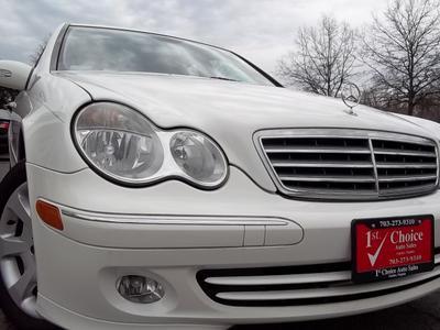 2006 Mercedes-Benz C-Class C280 for sale VIN: WDBRF54H96F728536
