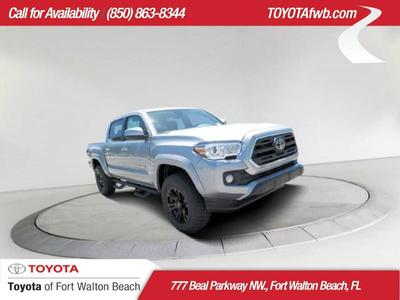 New 2019 Toyota Tacoma Sr5 Crew Cab Pickup In Fort Walton