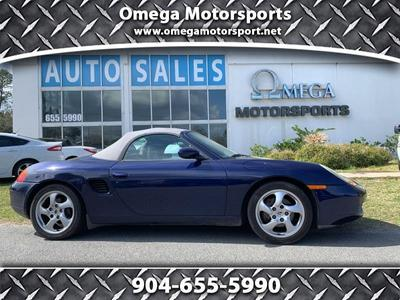 2001 Porsche Boxster  for sale VIN: WP0CA29881U626419