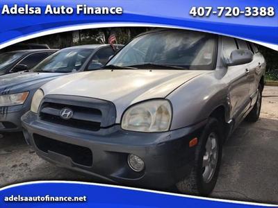 2005 Hyundai Santa Fe GLS for sale VIN: KM8SC13E15U861471