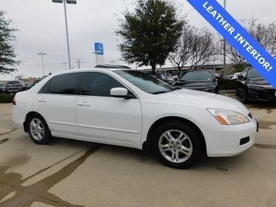 2007 Honda Accord EX-L for sale VIN: 1HGCM56807A028849