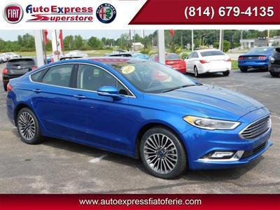 2017 Ford Fusion SE for sale VIN: 3FA6P0T92HR177764