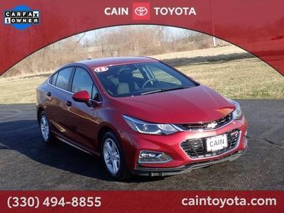 Chevrolet Cruze 2018 a la venta en North Canton, OH