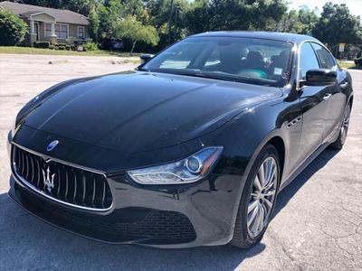 2016 Maserati Ghibli Base for sale VIN: ZAM57XSA5G1165185