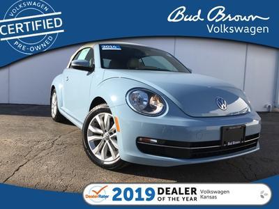 2014 Volkswagen Beetle 2.0L TDI for sale VIN: 3VW6L7AT0EM822916