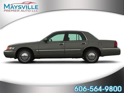 2001 Mercury Grand Marquis LS for sale VIN: 2MEFM75W31X687495