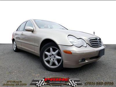 2002 Mercedes-Benz C-Class C320 for sale VIN: WDBRF64JX2F166374