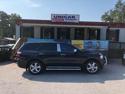 2011 Dodge Durango Citadel for sale VIN: 1D4SE5GT3BC651747