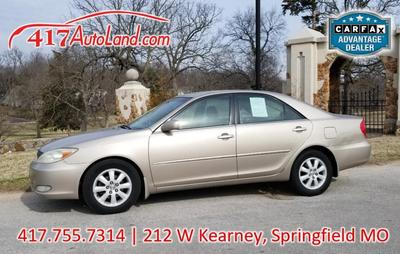 2003 Toyota Camry XLE for sale VIN: 4T1BE32K53U710546