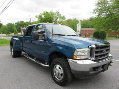 2002 Ford F-350 Lariat Crew Cab Super Duty for sale VIN: 1FTWW33F62EA23668