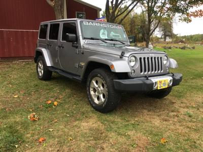 Jeep Wrangler Unlimited 2015 for Sale in Spencer, MA