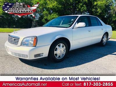 2004 Cadillac DeVille  for sale VIN: 1G6KD54Y04U149827