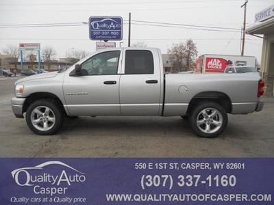 2007 Dodge Ram 1500 SLT for sale VIN: 1D7HU18N87J620229