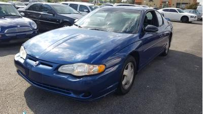 2003 Chevrolet Monte Carlo SS for sale VIN: 2G1WX12K639335826