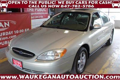 2003 Ford Taurus SES for sale VIN: 1FAFP55U43G177179